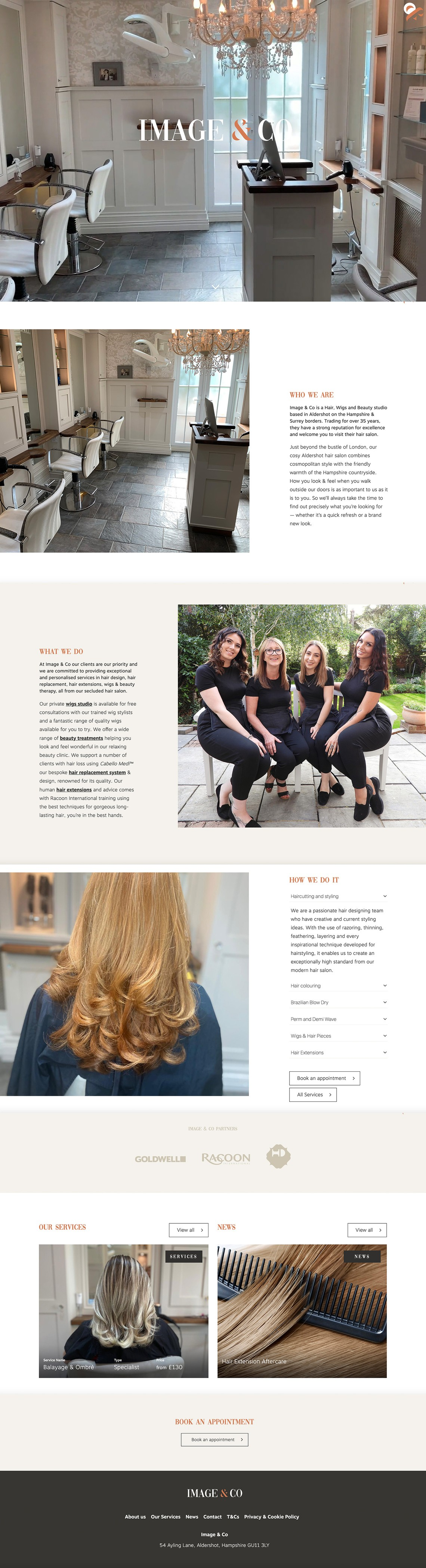 Image & Co Website Design