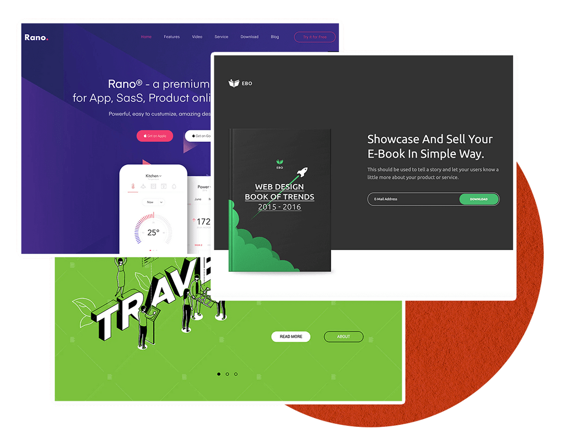 Landing Page Creation
